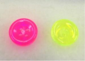 ☆かわいいネオンカラーボタン☆