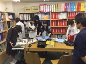 2016年7月12日 東京モード学園さんがショールームに来社!