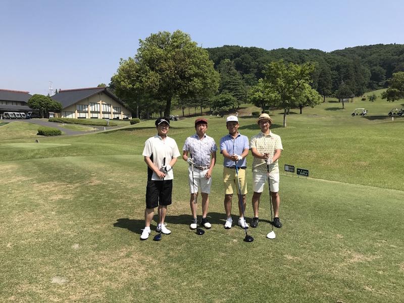 クロップオザキ ゴルフコンペ 春の陣