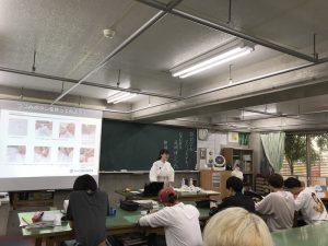 2019年7月4日 織田ファッション専門学校で講義!